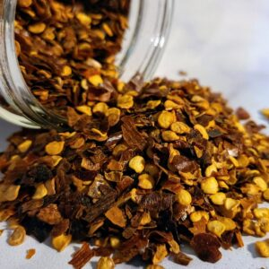 Chile Pepper Flakes ~ Certified Organic