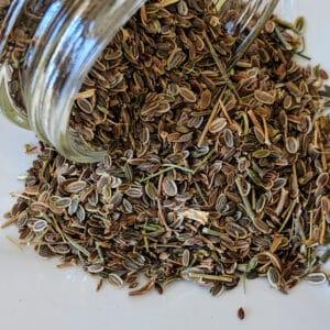 Dill Seed ~ Certified Organic