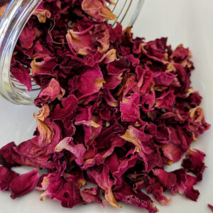 Rose Petals, Red ~ Certified Organic